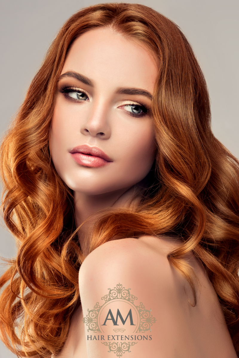 Red Hair Extensions Northampton