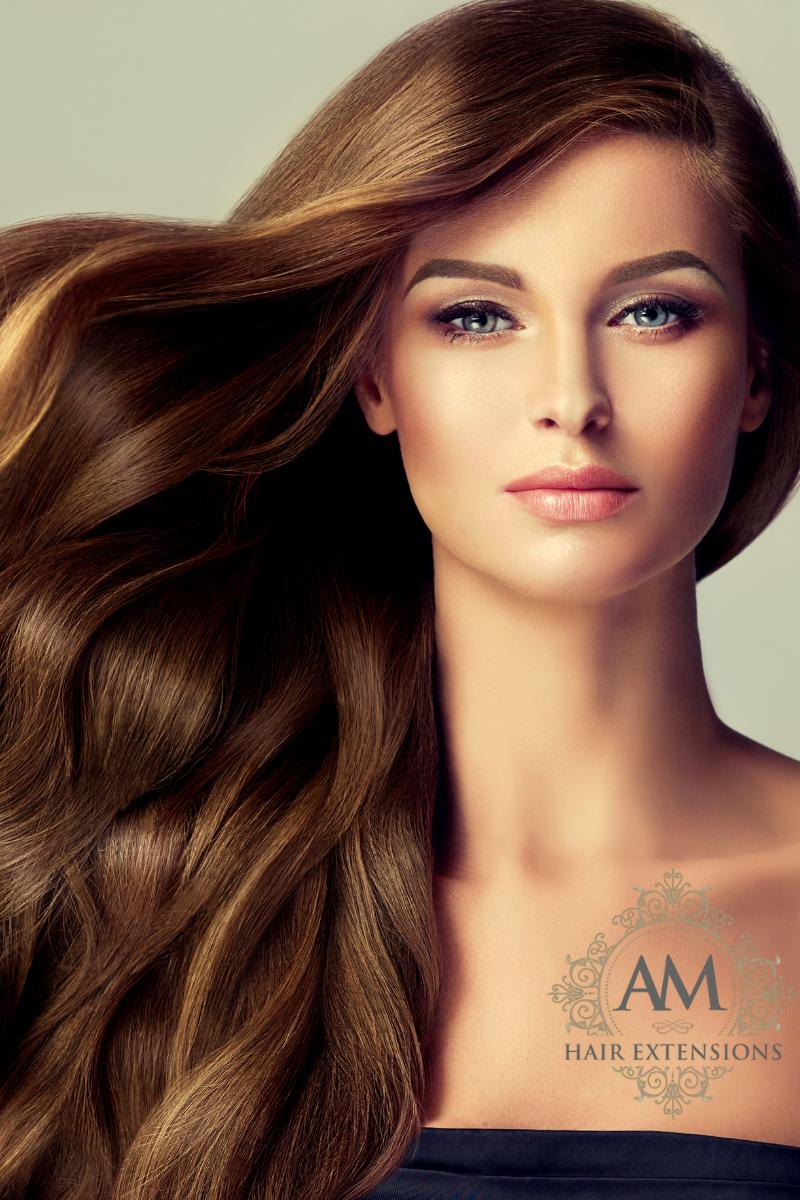 Long brown hair extensions northampton