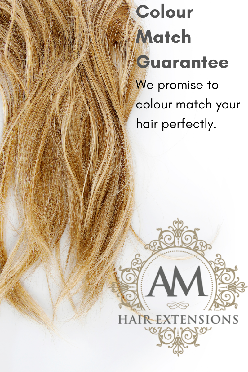 Perfectly colour matched hair extensions orthampton