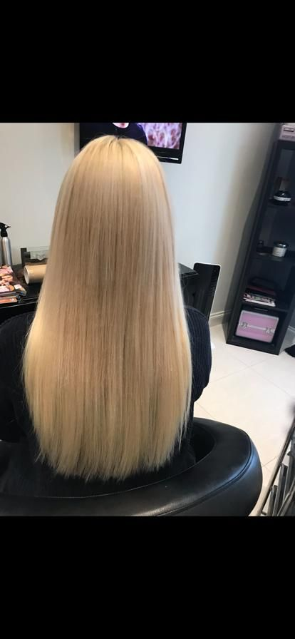 Hair Extensions in Northampton - long blonde hair extensions